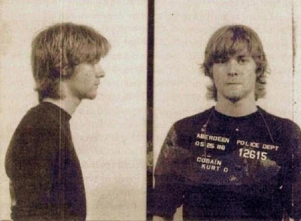 Kurt Cobain fue detenido por pintar graffitis a favor de los derechos de los homosexuales