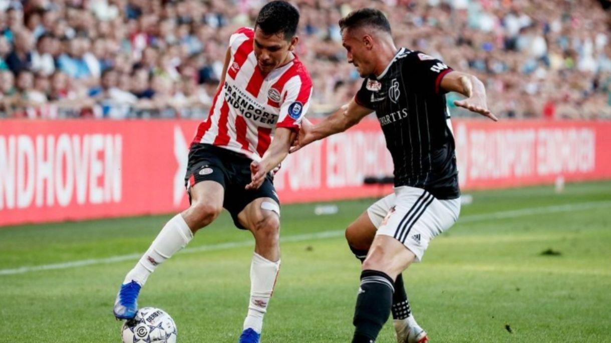 Lozano fue sustituido a los 82 minutos de juego, mientras que su compañero y amigo Gutiérrez disputó todo el juego y fue clave en el gol del triunfo (Foto: Twitter)