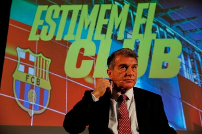 Laporta is one of the favorites for the Barcelona presidential elections (EFE)