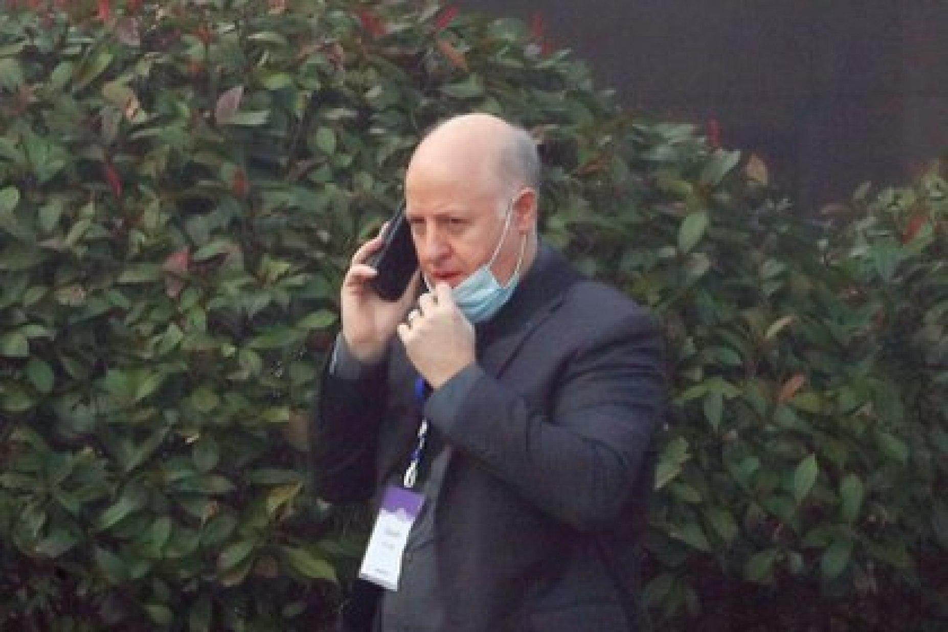 Peter Daszak, el especialista de la OMS en Wuhan (REUTERS/Thomas Peter)