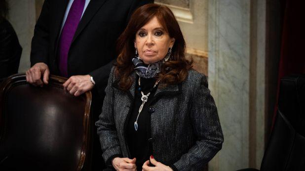Sesión Senado 180620 - Santiago Cafiero - Cristina Kirchner CFK - Congreso