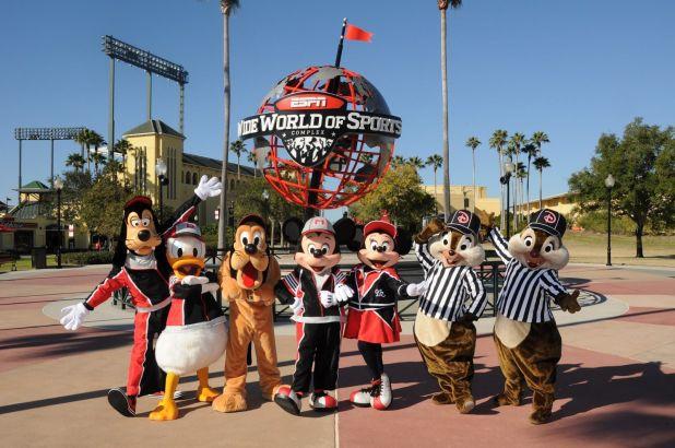 En las inmensas instalaciones de Disney hay un lugar específico que podría recibir a la NBA (Disney)