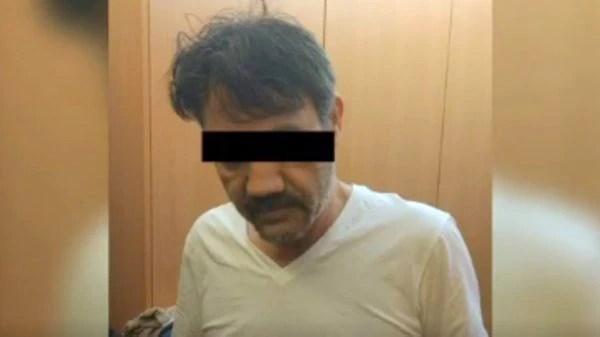 Dámaso López Nuñez, al momento de su detención en la Ciudad de México