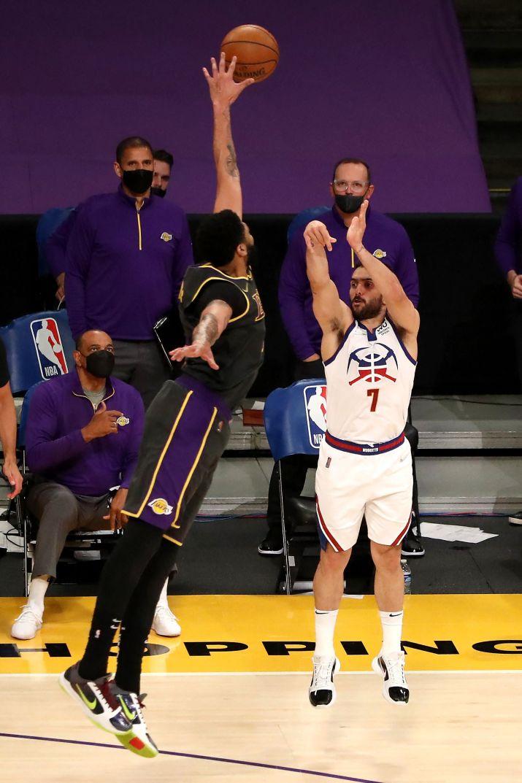 Campazzo vs los Lakers 1920