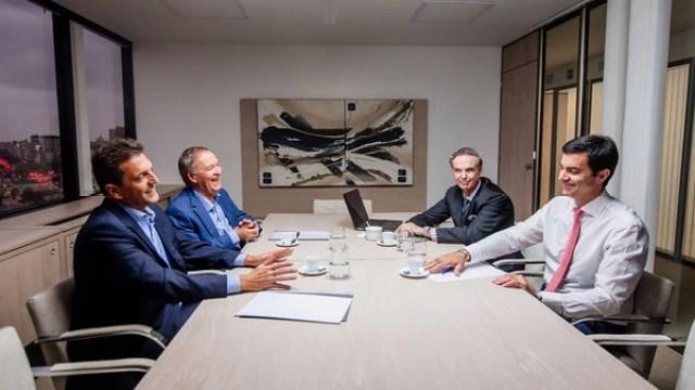 Sergio Massa, Juan Schiaretti, Miguel Pichetto y Juan Manuel Urtubey, los más alejados del kirchnerismo