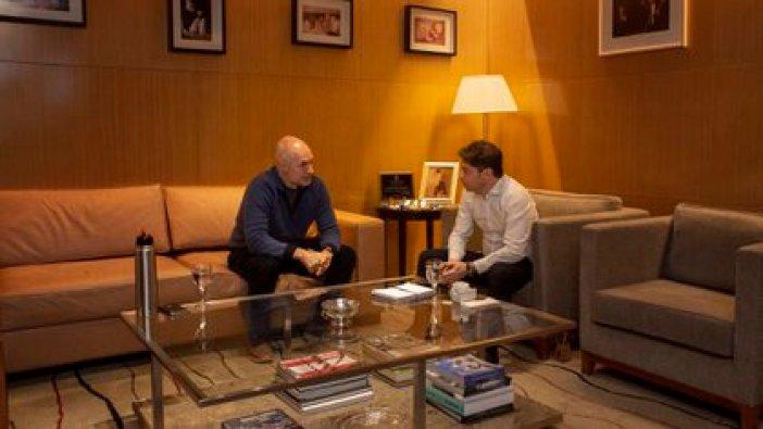 Horacio Rodríguez Larreta y Axel Kicillof se habían reunido para debatir el aislamiento, pero no pudieron llegar a un acuerdo. (@Kicillofok)