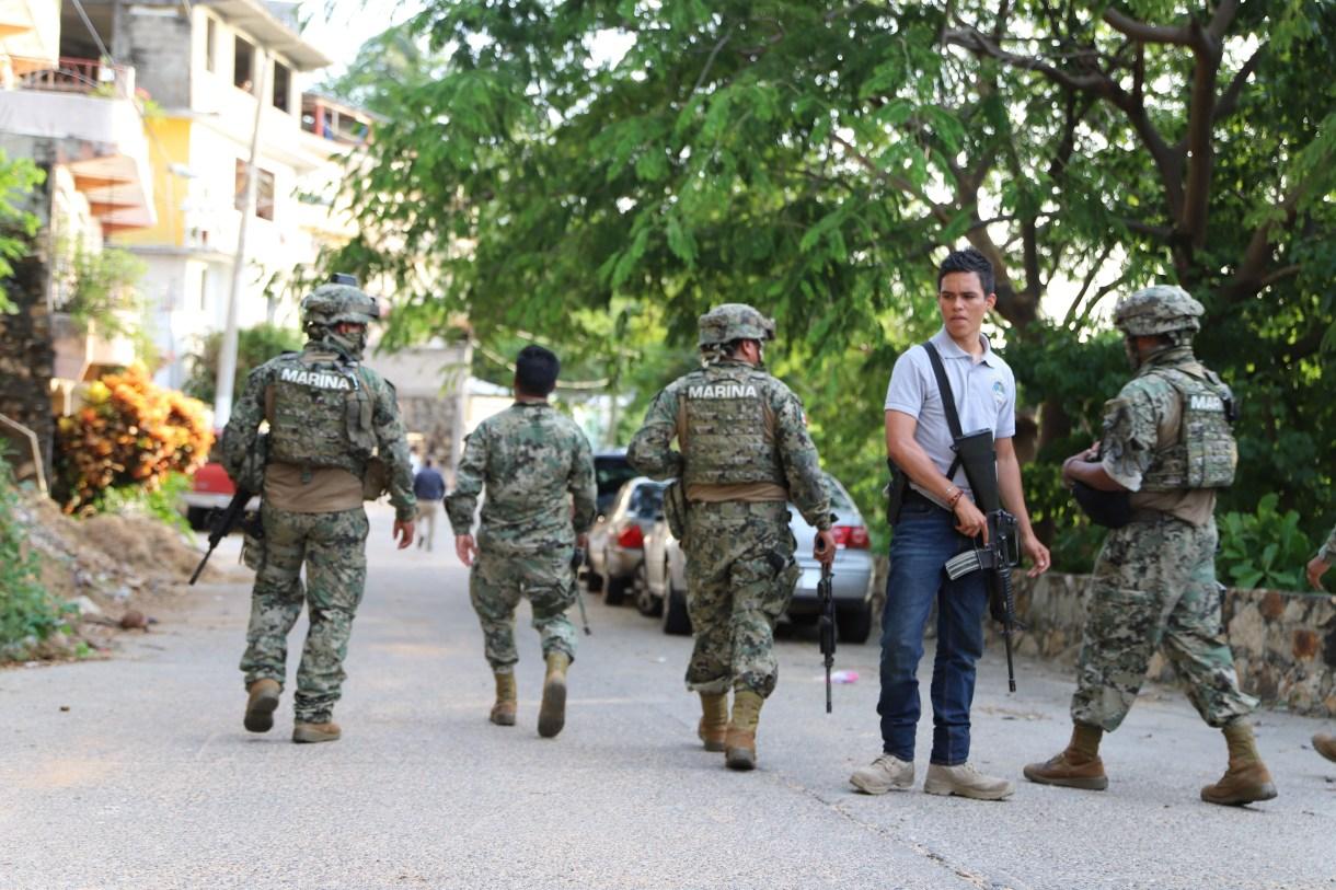 En el punto conocido como las Palmitas, en Acapulco, Guerrero, se reportó un enfrentamiento entre grupos armados, el pasado 30 de julio (Foto: Cuatoscuro)