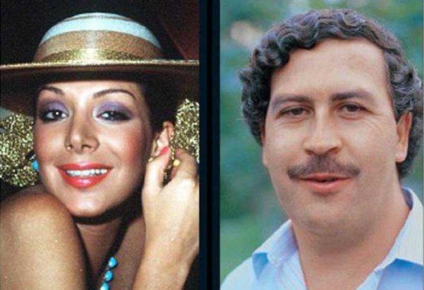 Pablo Escobar y Virginia Vallejo, famosa presentadora de tevé, fueron amantes durante cinco años