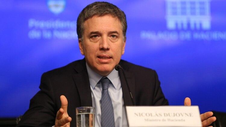 El ex ministro de Hacienda Nicolás Dujovne (Foto NA)