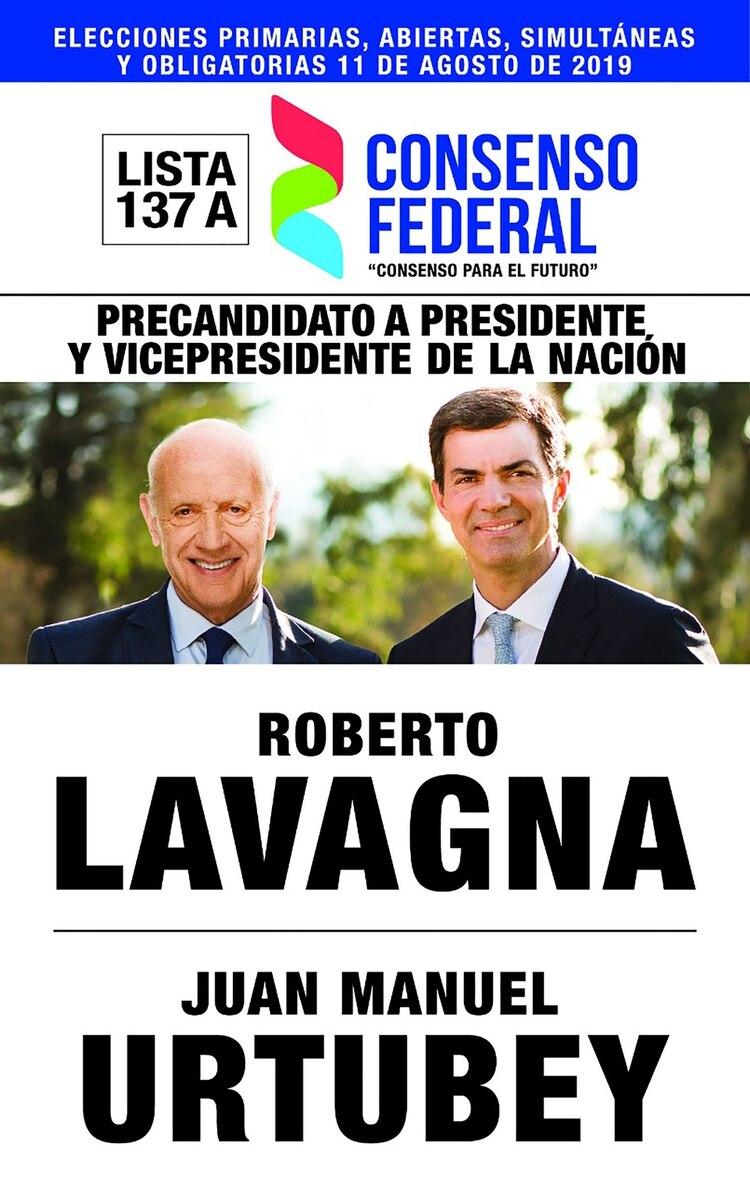 Roberto Lavagna y Juan Manuel Urtubey – Consenso Federal