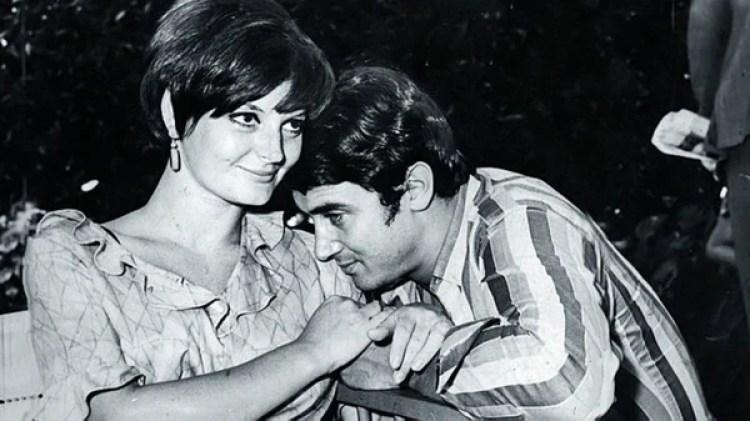 El actor se casó con Claudia Lapacó a mediados de los '60