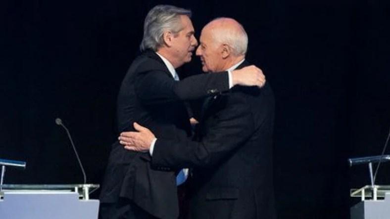 Alberto Fernández elogió a Lavagna, pero criticó a sus diputados