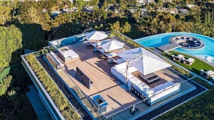 mansión de LeBron Jame en Los Ángeles