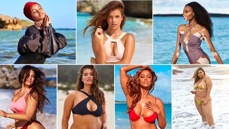 Son modelos que por sus costumbres, piel, peso o edad han roto los estereotipos y se han apoderado de las pasarelas, las pantallas o las redes sociales para presumir orgullosas su belleza (Foto: Sports Illustrated)