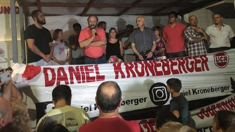 El discurso de Kroneberger tras la victoria (Julián Varela)