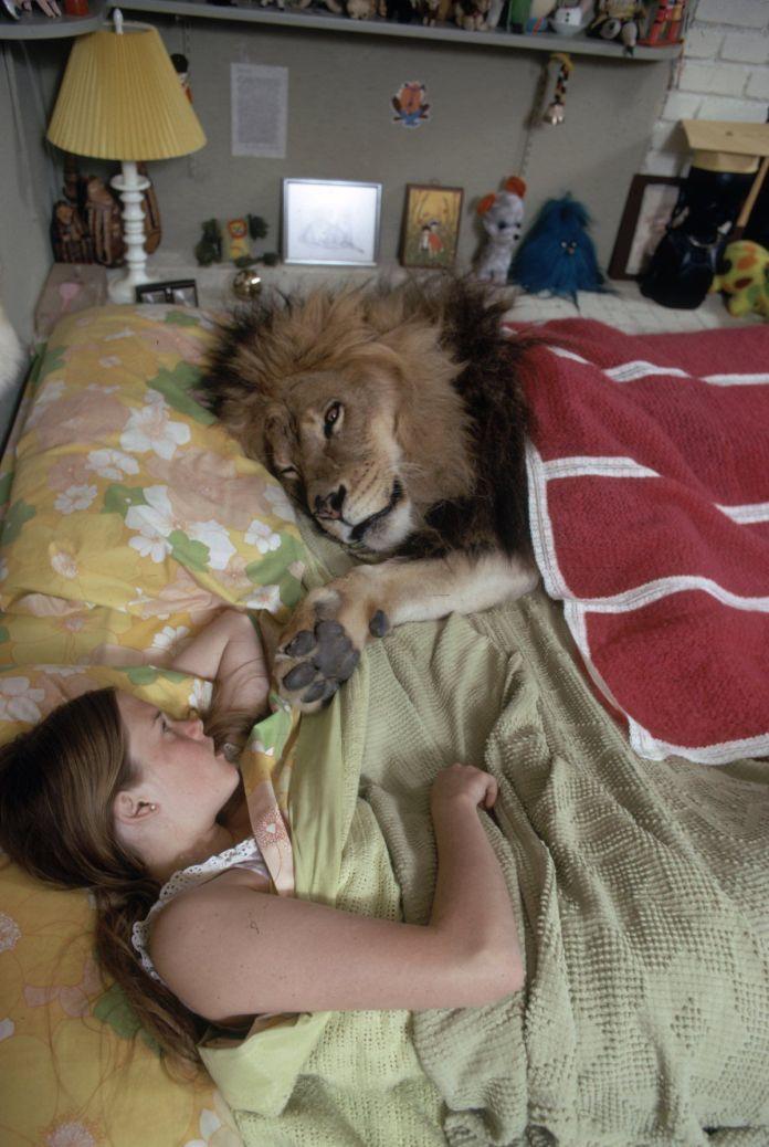 Melanie Griffith con tigres
