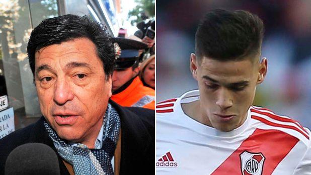 Daniel Passarella y Lucas Martínez Quarta