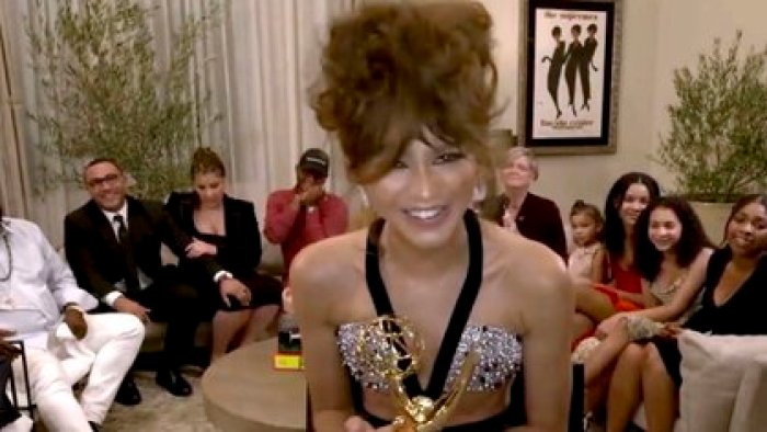 Zendaya (Foto: The Television Academy y ABC Entertainment vía AP)