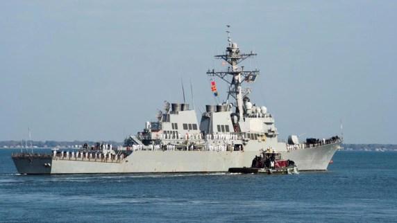 Al Badawi fue el cerebro del ataque contra el USS Cole en 2000, un destructor de la clase Arleigh Burke, como el que aparece en la foto (Reuters)