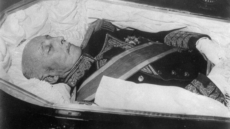 El cuerpo de Franco (Getty Images)