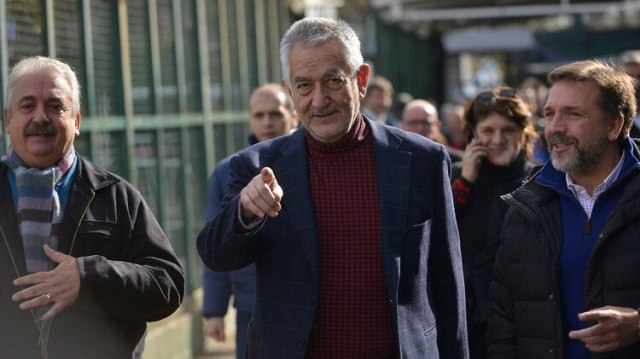 Alberto Rodríguez Saá, uno de los gobernadores que estará presente en Ferro (Gustavo Gavotti)