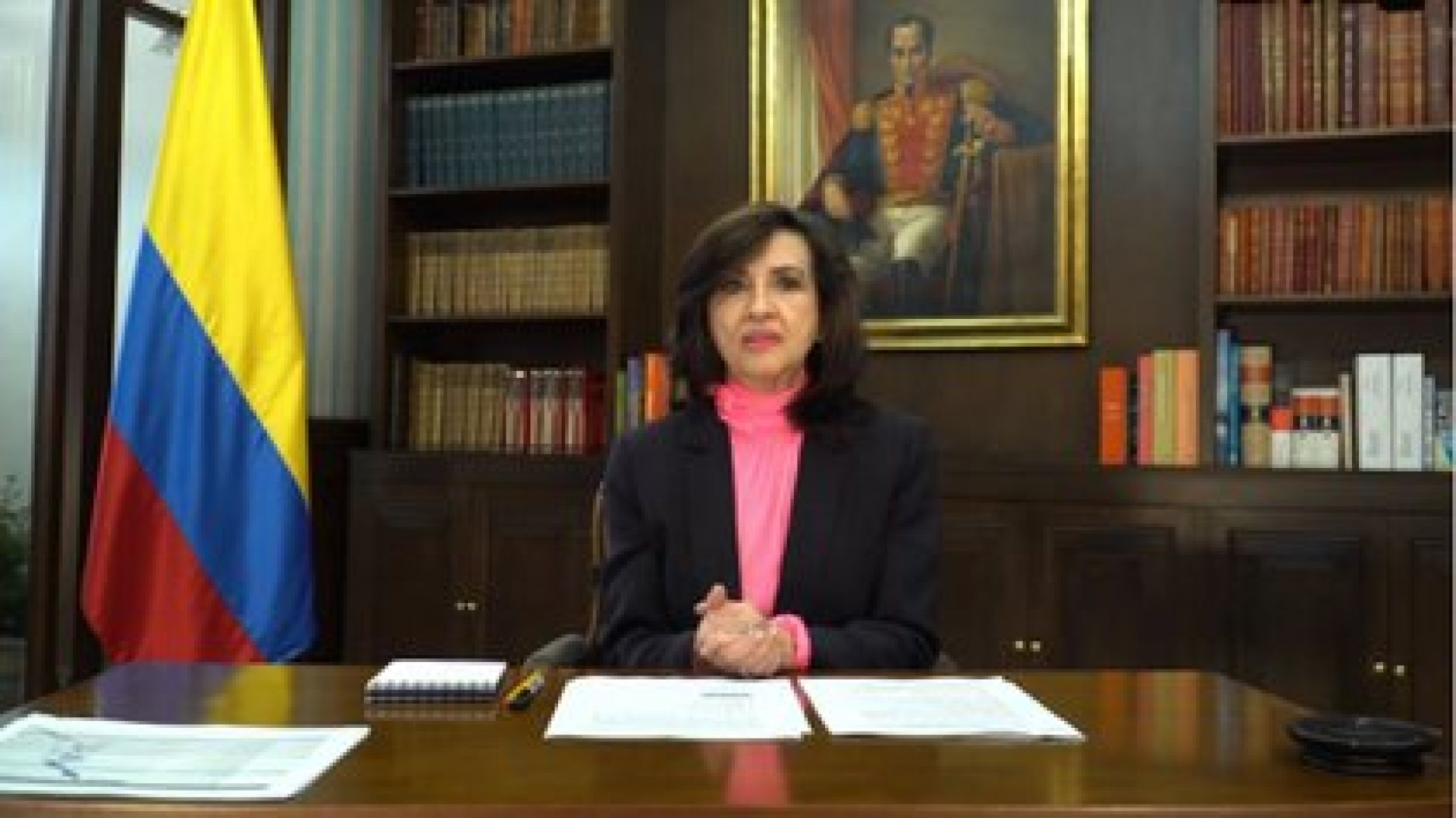 La Ministra de Relaciones Exteriores de Colombia, Claudia Blum