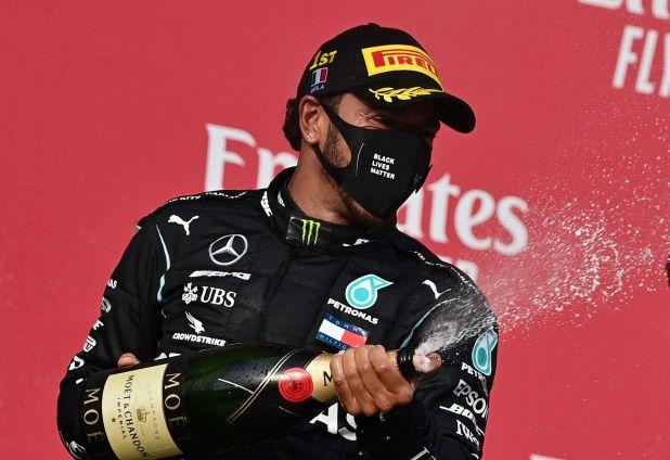 Lewis Hamilton es el piloto con más triunfos en Grandes Premios de la historia (Reuters)