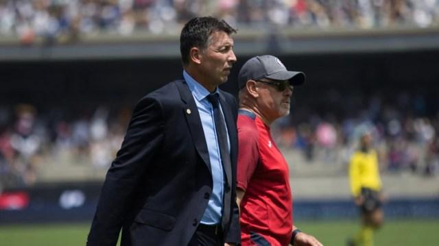 Siboldi llegó en septiembre a Cruz Azul, pero no pudo corregir la mala racha del equipo (Foto: Moisés Pablo/ Cuartoscuro)