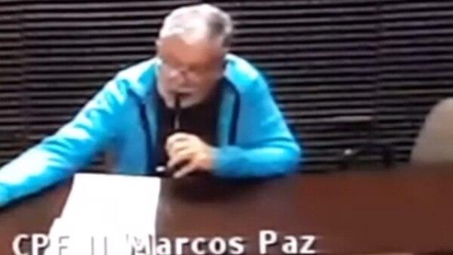 De Vido hoy. En la cárcel de Marcos Paz y condenado por la tragedia de once