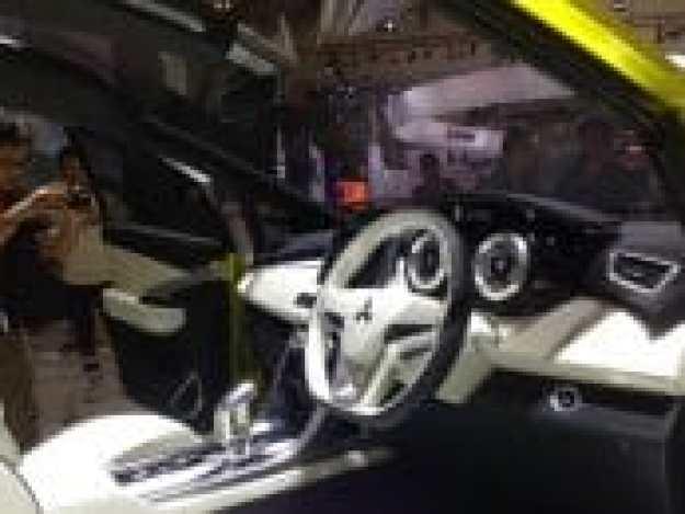 Dashboard Mitsubishi XM Concept