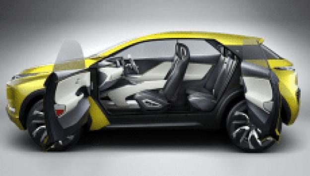 Daya Angkut Penumpang Mitsubishi XM Concept