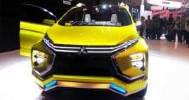 Duh cantiknya tampak depan Mitsubishi XM Concept