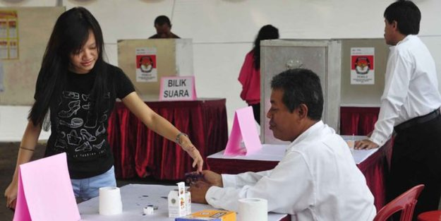 pemilu indonesia terbesar kedua setelah amerika serikat