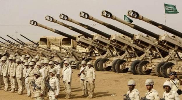 militer arab saudi bertambah signifikan