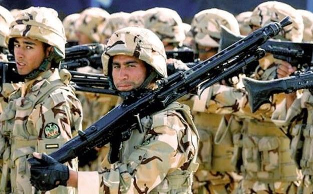 kekuatan militer iran