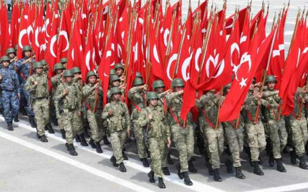 turki adalah negara dengan militer terkuat di timur tengah (via shoebat.com)
