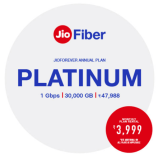 Jio Fiber Platinum