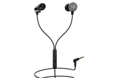 Best Quality Earphones Under ₹500-boAt BassHeads 172 Wired Headset
