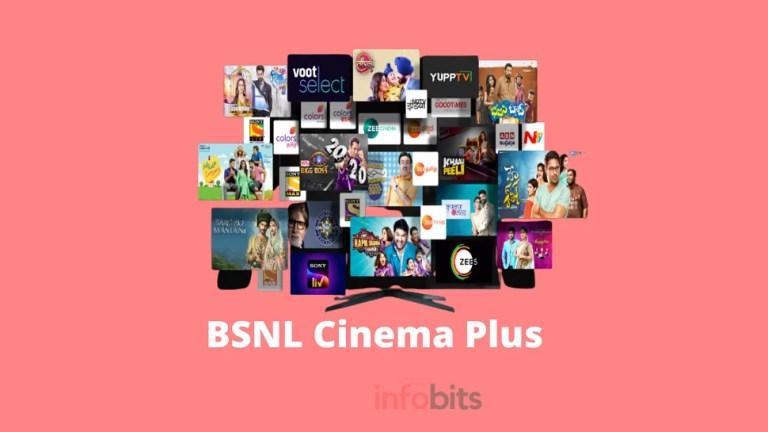 BSNL Cinema Plus Service With Access to Major OTT Platforms