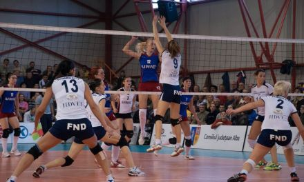 Volei CSV Alba Blaj – VC Unic Piatra Neamt – 25 nov 2012
