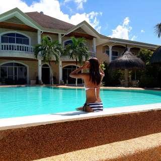 Linaw Beach Resort Bikini 007
