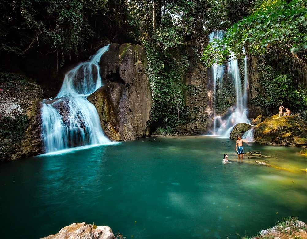 Pahangog Twin Falls Dimiao Bohol Philippines Adventure Bohol 0001