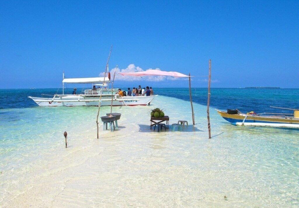 Virgin Island In Bohol Philippines