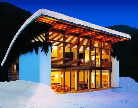 Una casa in legno RUBNER HAUS