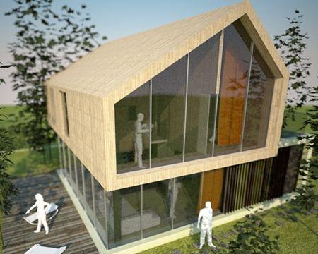 Prototipo di casa unifamiliare