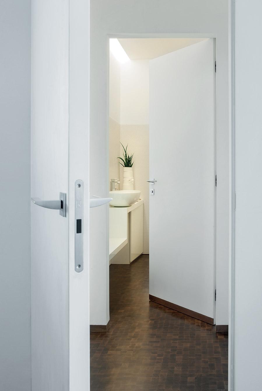 Porte filo muro per un impatto elegante pulito e lineare