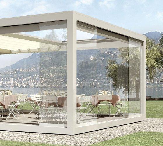 Una gamma completa di tende da esterno manuali o elettriche per una perfetta protezione dai raggi solari. Melano Tenda Da Sole A Pacchetto