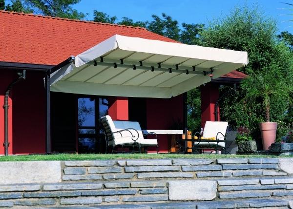 Ombrelloni da giardino, da terrazzo, da balcone ed esterno. Ombrelloni Linea Giardino