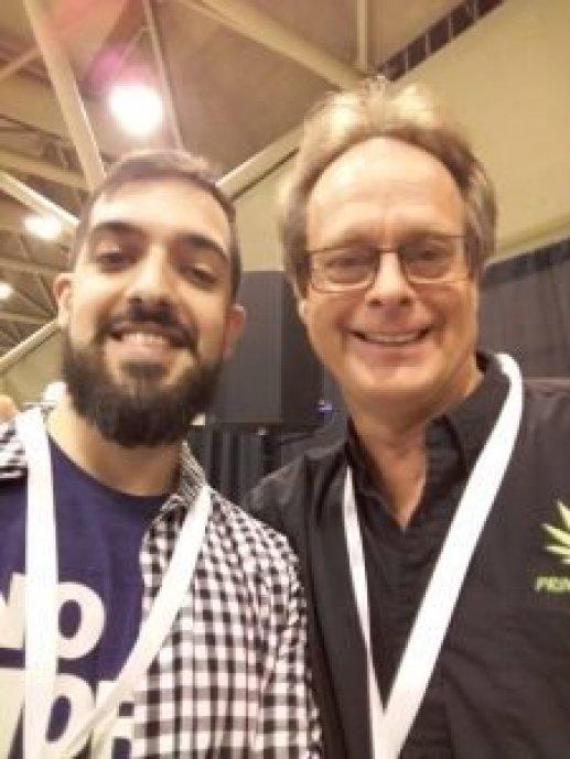 Marc Emery junto a Antonio Cillero, autor de esta entrevista