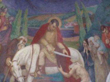 Fresque de l'église Saint-Martin du Cellier